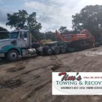 Oversize Load Gets 8 Axles From Tim's Towing