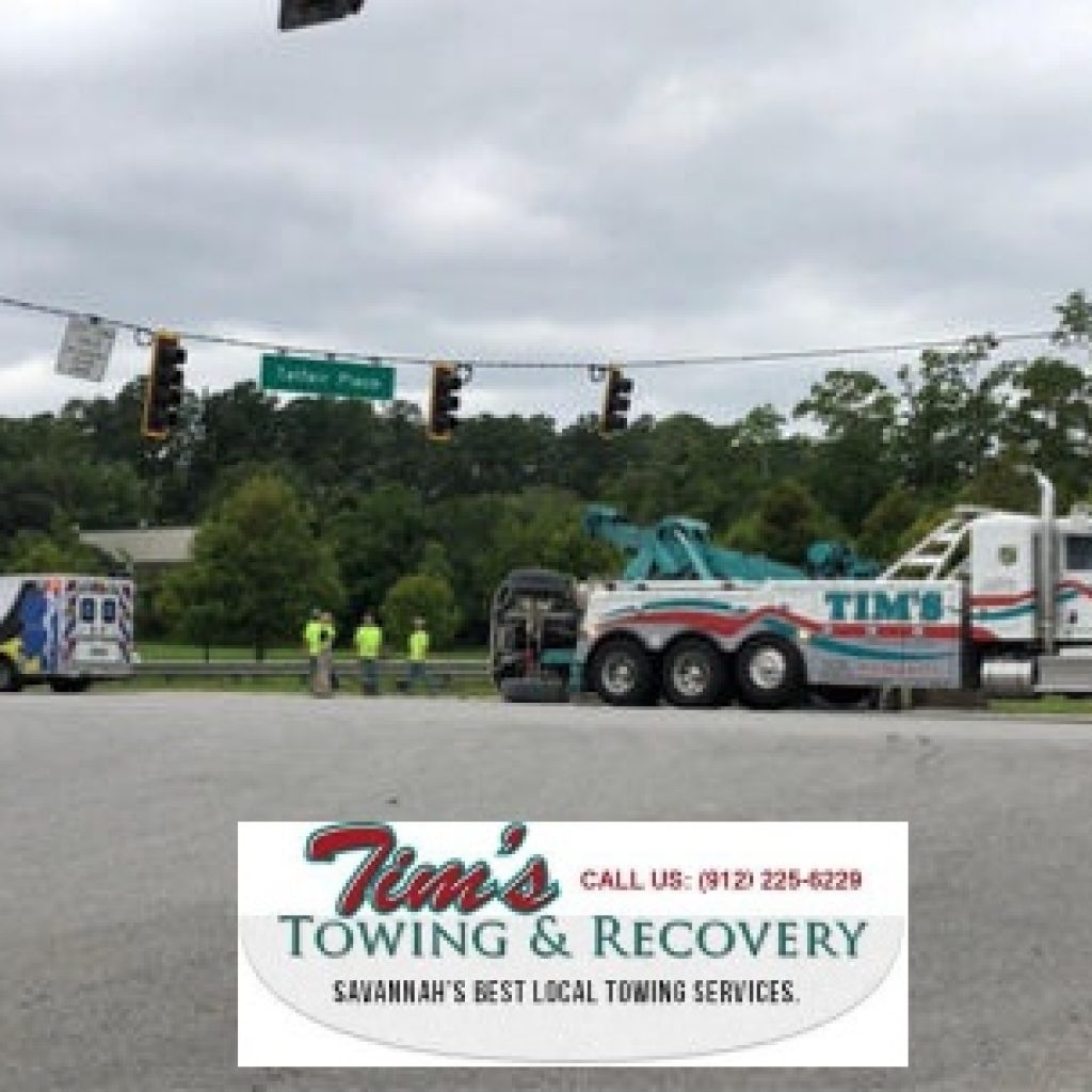 Overturned Chicken Truck Needs Tow Truck Company Services 2