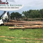 Heavy Recovery Effort Moves Timbers 3