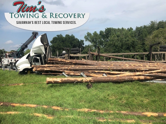 Heavy Recovery Effort Moves Timbers 2