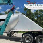 Heavy Tow Company Helps with 50,000 lb Trailer 2